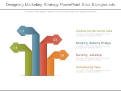 Designing Marketing Strategy Powerpoint Slide Backgrounds