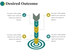 Desired Outcome Ppt PowerPoint Presentation Inspiration