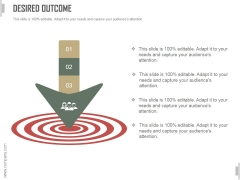 Desired Outcome Ppt PowerPoint Presentation Template