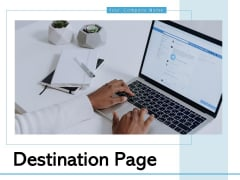 Destination Page Global Business Ppt PowerPoint Presentation Complete Deck
