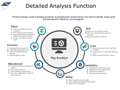 Detailed Analysis Function Ppt PowerPoint Presentation Ideas Layout