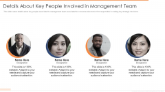 Details About Key People Involved In Management Team Ppt Portfolio Graphic Images PDF