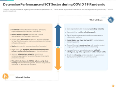 Determine Performance Of ICT Sector During Covid 19 Pandemic Topics PDF