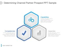 Determining Channel Partner Prospect Ppt Sample