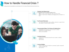 Determining Crisis Management BCP How To Handle Financial Crisis Ppt PowerPoint Presentation Summary PDF