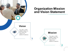Develop Corporate Cyber Security Risk Mitigation Plan Organization Mission And Vision Statement Download PDF