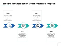 Develop Corporate Cyber Security Risk Mitigation Plan Timeline For Organization Protection Proposal Themes PDF