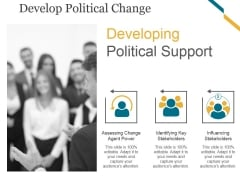 Develop Political Change Ppt PowerPoint Presentation Model Good