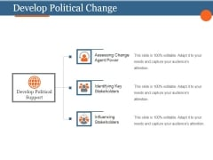 Develop Political Change Template 2 Ppt PowerPoint Presentation Model