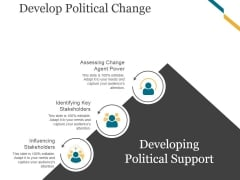 Develop Political Change Template 3 Ppt PowerPoint Presentation Example