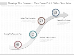 Develop The Research Plan Powerpoint Slides Templates