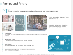 Developing A Right Pricing Strategy For Business Promotional Pricing Structure PDF