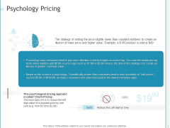 Developing A Right Pricing Strategy For Business Psychology Pricing Themes PDF