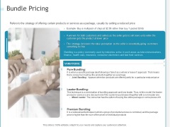 Developing A Right Strategy For Business Bundle Pricing Ppt Slides Deck PDF