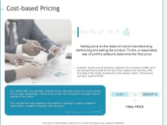 Developing A Right Strategy For Business Costbased Pricing Download PDF
