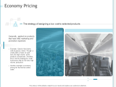 Developing A Right Strategy For Business Economy Pricing Ppt Gallery Template PDF