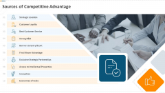 Developing Action Plan For Gaining Market Advantage Sources Of Competitive Advantage Ppt Visual Aids Summary PDF