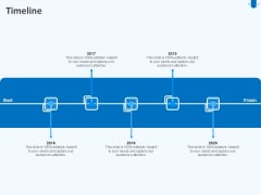 Developing And Implementing Corporate Partner Action Plan Timeline Microsoft PDF
