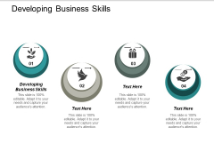 Developing Business Skills Ppt PowerPoint Presentation Gallery Introduction