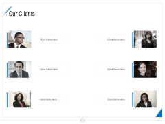 Developing Content Strategy Our Clients Ppt Pictures Files PDF