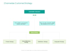 Developing Customer Service Strategy Channelize Customer Strategy Ppt Outline Designs PDF
