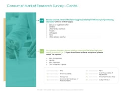 Developing Customer Service Strategy Consumer Market Research Survey Contd Opinion Microsoft PDF