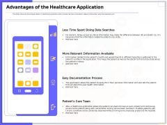 Developing Deploying Android Applications Advantages Of The Healthcare Application Portrait PDF
