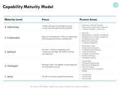 Developing Employee Competency Capability Maturity Model Ppt Summary Professional PDF