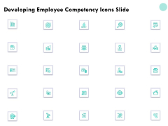Developing Employee Competency Icons Slide Ppt Slides Templates PDF
