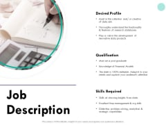 Developing Employee Competency Job Description Ppt Inspiration Guide PDF