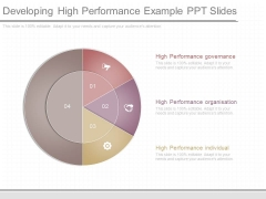 Developing High Performance Example Ppt Slides