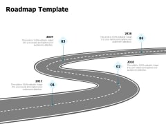 Developing Implementing Strategic HRM Plans Roadmap Template Ppt Layouts Summary PDF