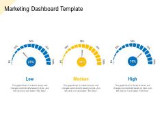 Developing Market Positioning Strategy Marketing Dashboard Template Microsoft PDF
