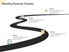 Developing Market Positioning Strategy Marketing Roadmap Template Infographics PDF