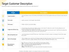 Developing Market Positioning Strategy Target Customer Description Designs PDF