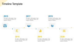 Developing Market Positioning Strategy Timeline Template Introduction PDF