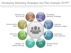 Developing Marketing Strategies And Plan Example Of Ppt