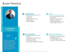 Developing New Sales And Marketing Strategic Approach Buyer Persona Ppt PowerPoint Presentation Portfolio Ideas PDF