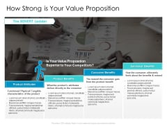 Developing New Sales And Marketing Strategic Approach How Strong Is Your Value Proposition  Formats