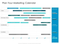 Developing New Sales And Marketing Strategic Approach Plan Your Marketing Calendar Ppt PowerPoint Presentation File Rules PDF