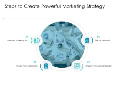 Developing New Sales And Marketing Strategic Approach Steps To Create Powerful Marketing Strategy Mockup