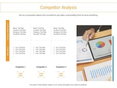 Developing New Trade Name Idea Competitor Analysis Ppt Slides Maker PDF