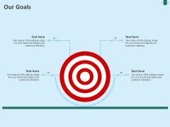 Developing Organization Partner Strategy Our Goals Ppt Outline Microsoft PDF