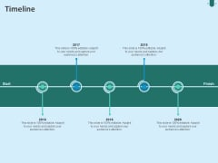 Developing Organization Partner Strategy Timeline Ppt Professional File Formats PDF