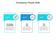 Developing People Skills Ppt PowerPoint Presentation Portfolio Layout Ideas Cpb