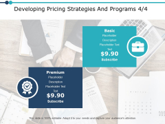 Developing Pricing Strategies And Programs Management Ppt PowerPoint Presentation Professional Graphic Images