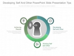 Developing Self And Other Powerpoint Slide Presentation Tips