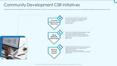Developing Viable Working Surrounding Community Development CSR Initiatives Guidelines PDF