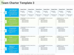 Developing Work Force Management Plan Model Team Charter Roles Themes PDF