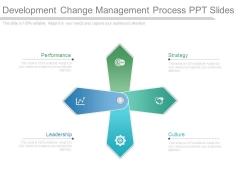 Development Change Management Process Ppt Slides